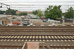 Construction Progress Railroad Station Fairfield Metro Center - Site visit 12 of once per month periodic photography