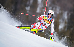 17.02.2019, Aare, SWE, FIS Weltmeisterschaften Ski Alpin, Slalom, Herren, 1. Lauf, im Bild Ramon Zenhaeusern (SUI) // Ramon Zenhaeusern of Switzerland in action during his 1st run of men's Slalom of FIS Ski World Championships 2019. Aare, Sweden on 2019/02/17. EXPA Pictures © 2019, PhotoCredit: EXPA/ Johann Groder