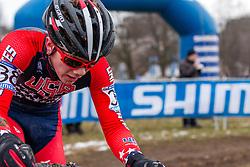 Cameron Beard (USA), Men Juniors, Cyclo-cross World Championship Tabor, Czech Republic, 31 January 2015, Photo by Pim Nijland / PelotonPhotos.com