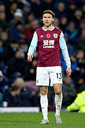 Burnley midfielder Jeff Hendrick (13) during the Premier League match between Burnley and West Ham United at Turf Moor, Burnley, England on 9 November 2019.