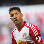 HARRISON, NEW JERSEY- OCTOBER 16:  Gonzalo Veron #30 of New York Red Bulls during the New York Red Bulls Vs Columbus Crew SC MLS regular season match at Red Bull Arena, on October 16, 2016 in Harrison, New Jersey. (Photo by Tim Clayton/Corbis via Getty Images)