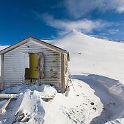 Icelandic Alpine Club hut at Botnsúlur mountains.