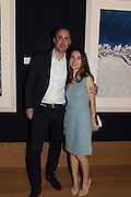 TIMO LIEBER AND HIS WIFE, THAW, An exhibition of photographs of the arctic polar ice cap by Timo Lieber. Bonhams. New Bond St. London. 21 February 2017