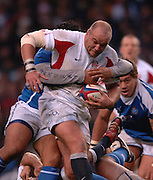 2005 Rugby, Investec Challenge, England vs Manu Samoa, Perry Freshwater's running with ball. RFU Twickenham, ENGLAND:     26.11.2005   © Peter Spurrier/Intersport Images - email images@intersport-images..