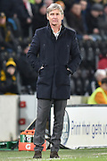 Jose Riga head coach of Charlton Athletic during the Sky Bet Championship match between Hull City and Charlton Athletic at the KC Stadium, Kingston upon Hull, England on 16 January 2016. Photo by Ian Lyall.