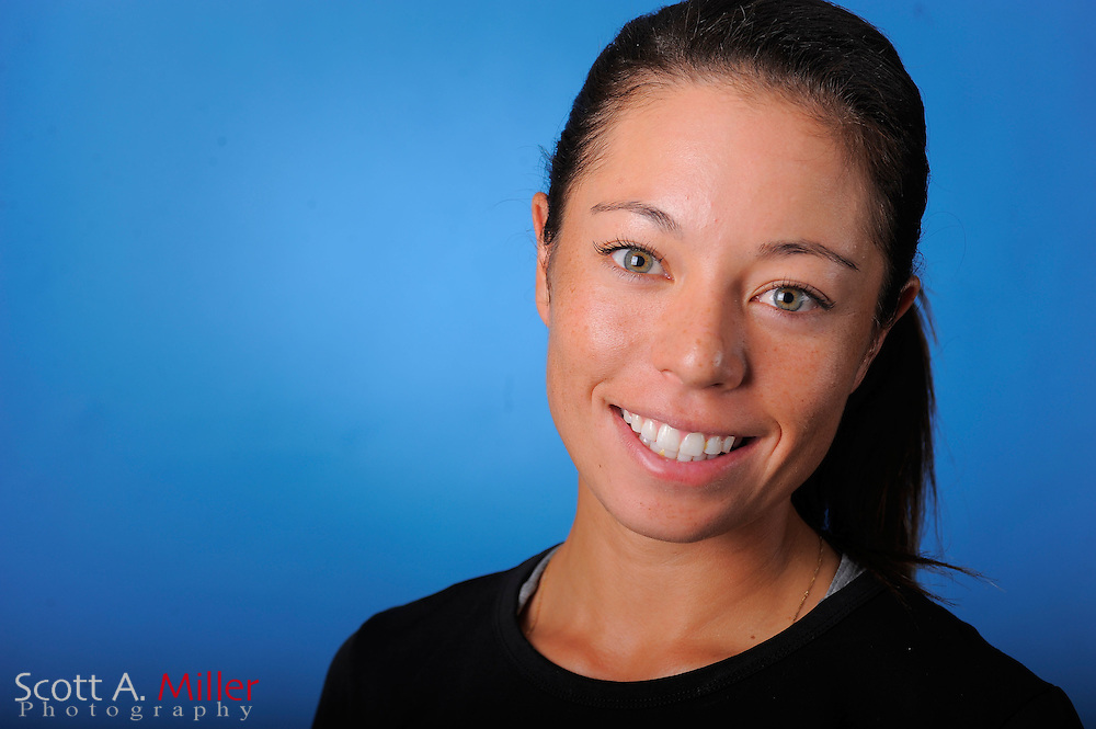 Kelly Jacques during a portrait session prior to the second stage of LPGA Qualifying School at the Plantation Golf and Country Club on Sept. 24, 2011 in Venice, FL...©2011 Scott A. Miller