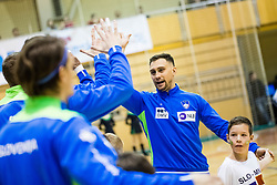 Cingesar Darko of Slovenia during friendly handball match between national teams Slovenia and Montenegro on 4th Januar, 2020, Trbovlje, Slovenia. Photo By Grega Valancic / Sportida