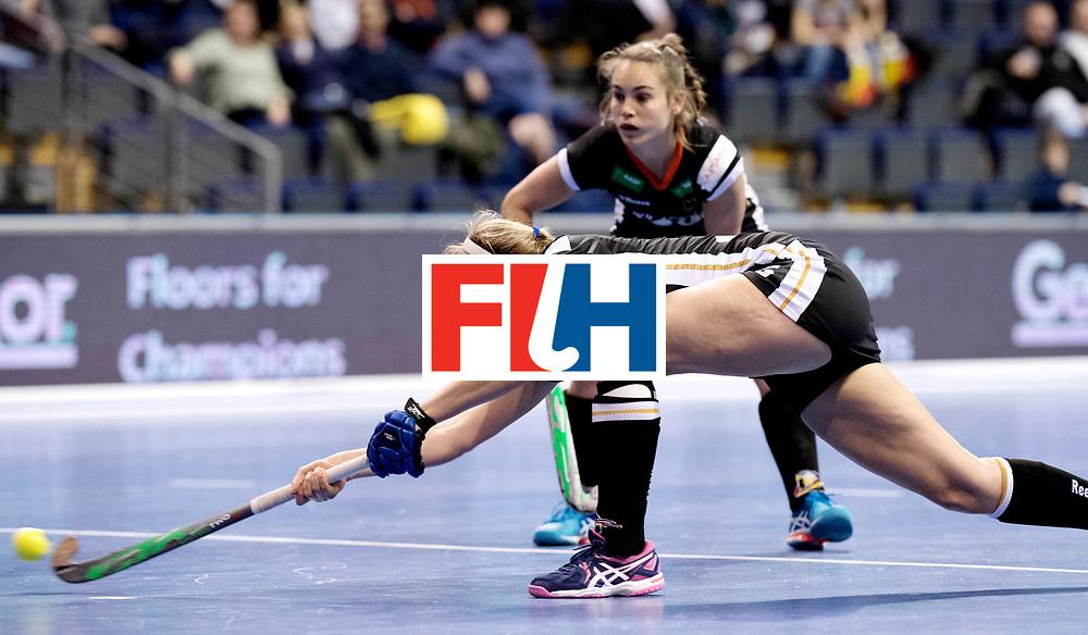 BERLIN - Indoor Hockey World Cup<br /> Women: Germany - Namibia<br /> foto: Viktoria Huse.<br /> WORLDSPORTPICS COPYRIGHT FRANK UIJLENBROEK
