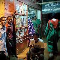 Khartoum, Sudan 18 April 2010<br /> Street scene.<br /> Photo: Ezequiel Scagnetti