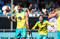 BREDA - Blake Govers (Aus) scoort 1-0.  Australia-India (1-1), finale Rabobank Champions Trophy 2018. Australia wint shoot outs.  COPYRIGHT  KOEN SUYK