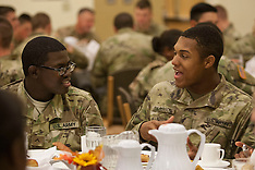 Military Thanksgiving Dinner
