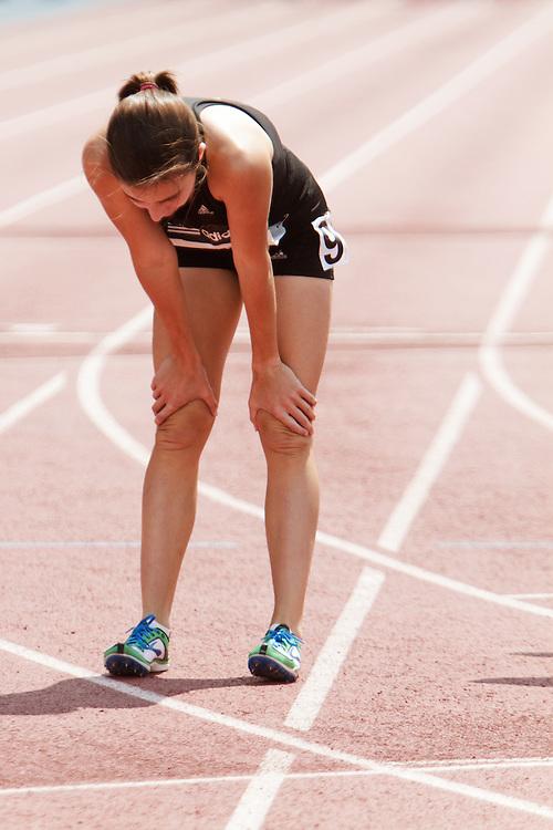 Samsung Diamond League adidas Grand Prix track & field; Dream Mile, High School Girls, Wesley Frazier