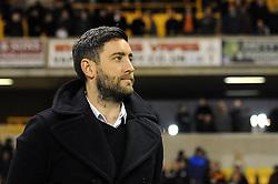 Bristol City head coach Lee Johnson - Mandatory byline: Dougie Allward/JMP - 08/03/2016 - FOOTBALL - Molineux Stadium - Wolverhampton, England - Wolves v Bristol City - Sky Bet Championship
