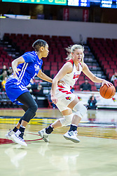 NORMAL, IL - January 03: McKenna Sims during a college women's basketball game between the ISU Redbirds and the Sycamores of Indiana State January 03 2020 at Redbird Arena in Normal, IL. (Photo by Alan Look)