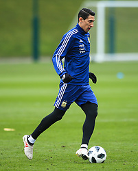 Argentina's Angel di Maria - Mandatory by-line: Matt McNulty/JMP - 21/03/2018 - FOOTBALL - Argentina - Training session ahead of international against Italy