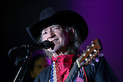 Willie Nelson performs at Hard Rock Cafe, Monday, Sept. 10, 2007, in New York, as part of Hard Rock's Ambassadors of Rock concert tour featuring Willie Nelson and Friends.  The event also launches the Sustainable Biodiesel Alliance, co-founded by Willie Nelson's wife Annie Nelson and actress Daryl Hannah, which promotes sustainable biodiesel practices.