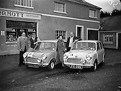1959 - Austin 7's that took part in the Cork Rally at Jobestown  House, Tallaght.
