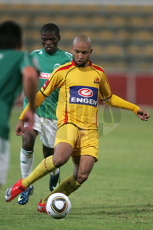 Zairon Van Beulen during the Absa Premiership , PSL, match between Santos and Amazulu held at Athlone Stadium in Athlone, Cape Town, South Africa on the 24 February 2010.Photo by: sportzpics.net