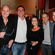 NLD/Amsterdam/20111201- Presentatie Tatjana Simic kalender, Rene Ros Peter Mijnen en partner Tatjana, Maurice Kroon en ............