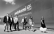 The Hugoson family that owns and run the company Polykemi in Ystad, Sweden.<br /> Photo Ola Torkelsson<br /> Copyright Ola Torkelsson &copy;
