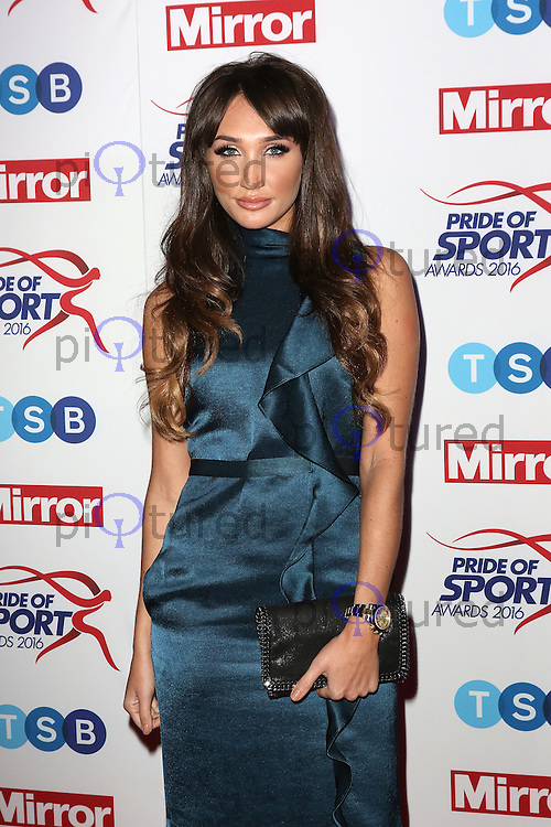 Megan McKenna, Pride of Sport Awards, Grosvenor House Hotel, London UK, 07 December 2016, Photo by Richard Goldschmidt