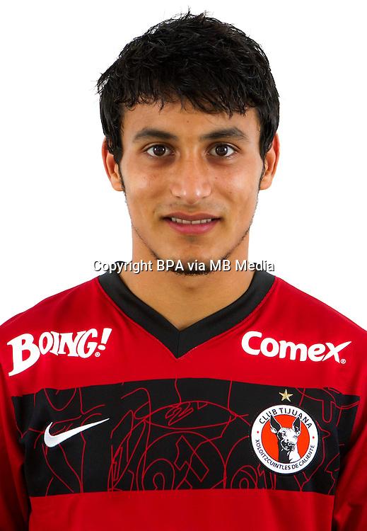 Mexico League - BBVA Bancomer MX 2014-2015 -<br /> Xolos - Club Tijuana / Mexico - <br /> Edgar Villegas Arce
