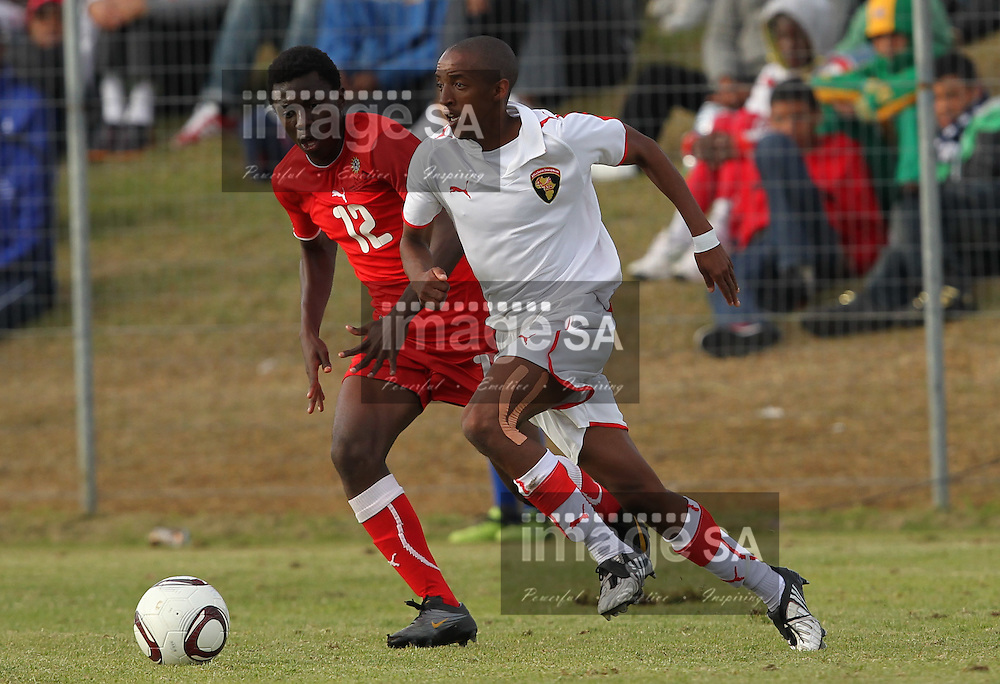 CAPE TOWN, SOUTH AFRICA, MONDAY 25 April 2011, the final between ASD Cape Town and Komesho FC of Namibia during the 2011 Metropolitan Premier Cup hosted by Bayhill United at Erica Park Sports stadium in Belhar..Photo by Roger Sedres/Image SA