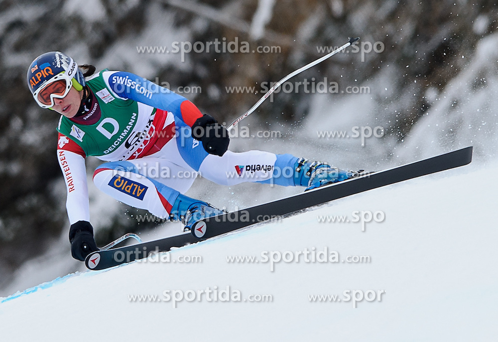 06.02.2013, Planai, Schladming, AUT, FIS Weltmeisterschaften Ski Alpin, Abfahrt, Damen, 1. Training, im Bild Dominique Gisin (SUI) // Dominique Gisin of Switzerland in action during 1st practice of Ladies Downhill at the FIS Ski World Championships 2013 at the Planai Course, Schladming, Austria on 2013/02/06. EXPA Pictures © 2013, PhotoCredit: EXPA/ Sandro Zangrando