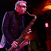 """Mars Williams of The Psychedelic Furs performs on May 8, 2011 in support of the 30th Anniversary of """"Talk Talk Talk"""" at the Showbox Market in Seattle, Washington"""