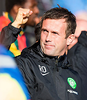 18/10/14 SCOTTISH PREMIERSHIP<br /> ROSS COUNTY v CELTIC<br /> GLOBAL ENERGY STADIUM - DINGWALL<br /> Celtic manager Ronny Deila