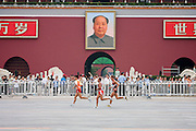 The Marathon at the Paralympic games, Beijing, China 17th September 2008