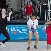 Michelle Dorrance and guest dancers