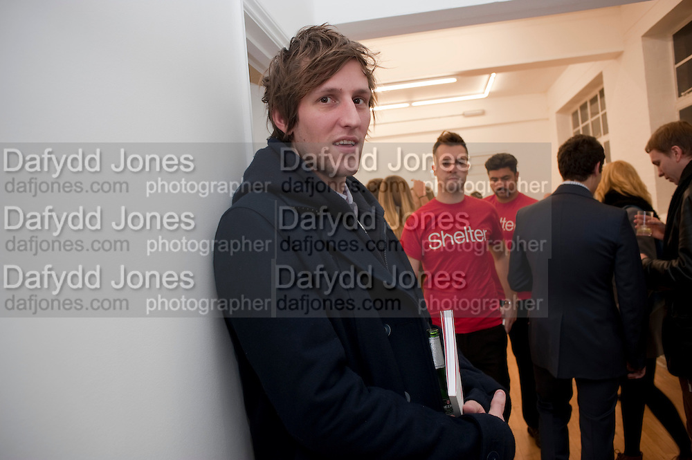 HENRY HUDSON, Hoxton Sq projects auction in aid of Shelter. .- Hoxton sq. Gallery. 24 November 2010. . -DO NOT ARCHIVE-© Copyright Photograph by Dafydd Jones. 248 Clapham Rd. London SW9 0PZ. Tel 0207 820 0771. www.dafjones.com.