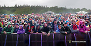 Some of the huge crowd who watch the Waterboys at the inaugural Westport Festival of Music and Performing Arts which was held this weekend. Set amidst a stunning 400 acre site in the heart of Westport town in Mayo,  Westport Festival of Music and Performing Arts the annual two-day festival embracing the very best local and international rock, folk, celtic and acoustic sounds. Pic: Michael Mc Laughlin