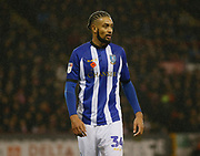 Sheffield Wednesday defender Michael Hector  (34)  during the EFL Sky Bet Championship match between Sheffield United and Sheffield Wednesday at Bramall Lane, Sheffield, England on 9 November 2018.