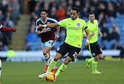 Brighton defender, full back, Liam Rosenior (23) during the Sky Bet Championship match between Burnley and Brighton and Hove Albion at Turf Moor, Burnley, England on 22 November 2015.