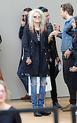 16.SEPTEMBER.2013. LONDON<br /> <br /> CELEBRITIES ARRIVE AT THE BURBERRY PRORSUM SHOW AT LONDON FASHION WEEK SS14 AT KENSINGTON GARDENS, LONDON<br /> <br /> BYLINE: EDBIMAGEARCHIVE.CO.UK<br /> <br /> *THIS IMAGE IS STRICTLY FOR UK NEWSPAPERS AND MAGAZINES ONLY*<br /> *FOR WORLD WIDE SALES AND WEB USE PLEASE CONTACT EDBIMAGEARCHIVE - 0208 954 5968*
