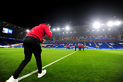 Troy Deeney of Watford arrives at Cardiff City Stadium prior to kick off  - Mandatory by-line: Ryan Hiscott/JMP - 22/02/2019 -  FOOTBALL - Cardiff City Stadium - Cardiff, Wales -  Cardiff City v Watford - Premier League