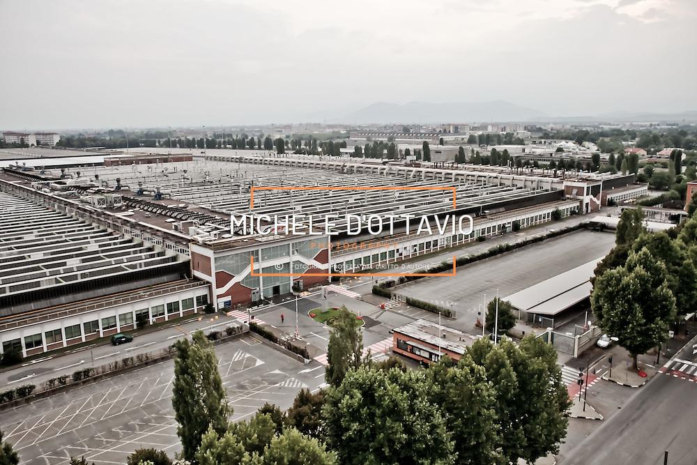 Stabilimento FIAT Mirafiori a Torino..Turin, Fiat Mirafiori Plant