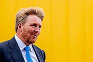 Koning bezoekt Dachser Netherlands BV