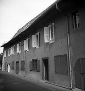 Ron Lewcock. VOC warehouses, Melaka.