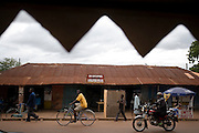 Street scene in Tamale, Ghana on Sunday June 3, 2007.
