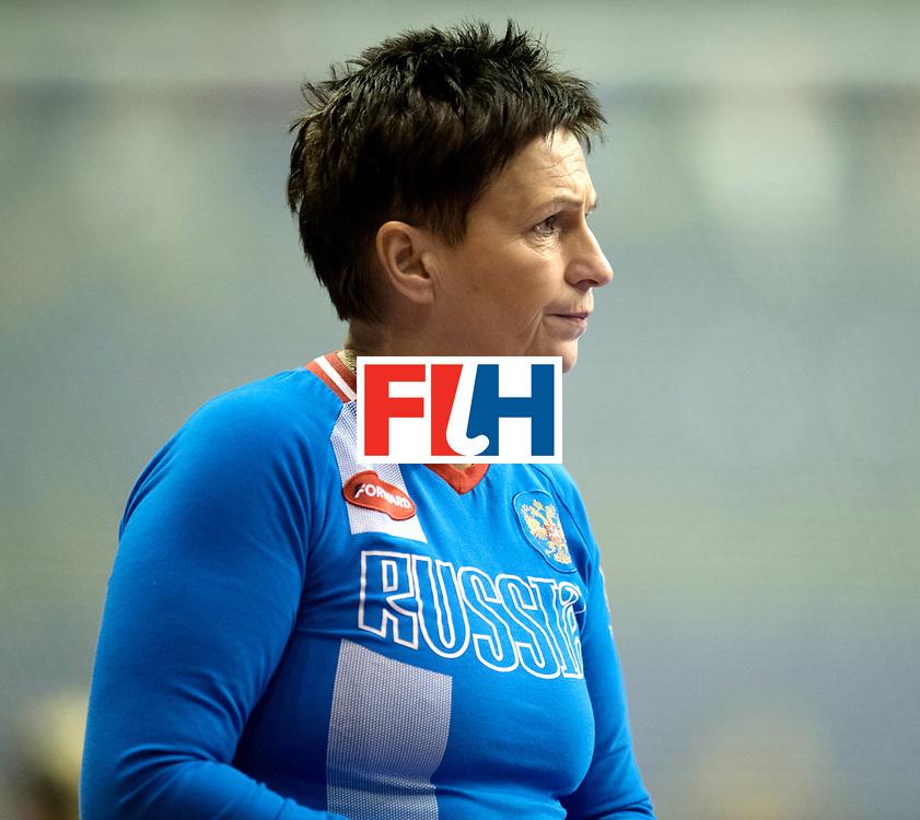 BERLIN - Indoor Hockey World Cup<br /> Women: Russia - Czech Republic<br /> foto: VANOVA Svetlana.<br /> WORLDSPORTPICS COPYRIGHT FRANK UIJLENBROEK