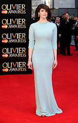 Gemma Arterton attends The Laurence Olivier Awards at the Royal Opera House, London, United Kingdom. Sunday, 13th April 2014. Picture by i-Images