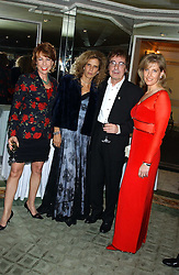 Left to right, writer KATHY LETTE, SUZANNE WYMAN, BILL WYMAN and HRH The COUNTESS OF WESSEX  at the Dyslexia Awards Dinner attended by HRH The Countess of Wessex held at The Dorchester Hotel, Park Lane, London on 9th November 2005.<br /><br />NON EXCLUSIVE - WORLD RIGHTS