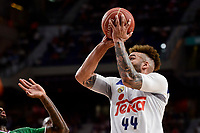Real Madrid's Jeffery Taylor during semi finals of playoff Liga Endesa match between Real Madrid and Unicaja Malaga at Wizink Center in Madrid, May 31, 2017. Spain.<br /> (ALTERPHOTOS/BorjaB.Hojas)