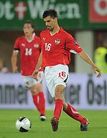 Fotball<br /> EM-kvalifisering<br /> Østerrike v Tyskland<br /> 03.06.2011<br /> Foto: Witters/Digitalsport<br /> NORWAY ONLY<br /> <br /> Paul Scharner  (Oesterreich)<br /> Fussball EM-Qualifikation, Oesterreich - Deutschland 1:2