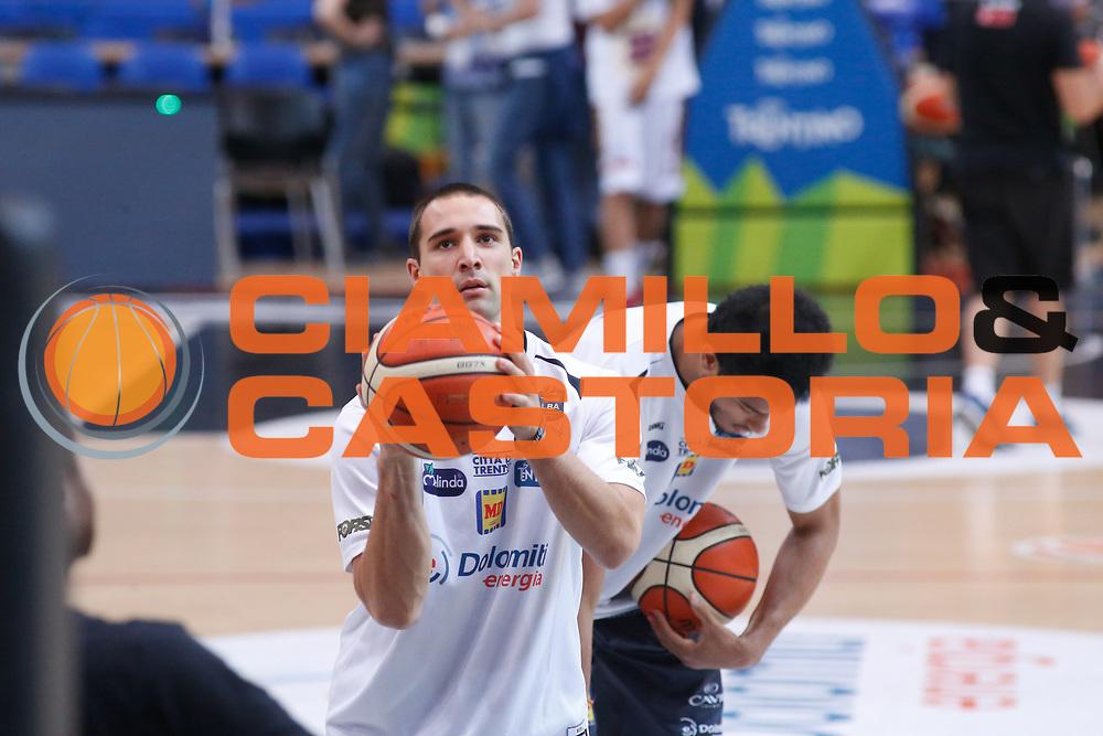 Aaron Craft<br /> Dolomiti Energia Aquila Basket Trento - Umana Reyer Venezia <br /> Lega Basket Serie A 2016/17 Finali Gara 03<br /> Trento, 14/06/2017<br /> Foto Ciamillo-Castoria / M. Brondi