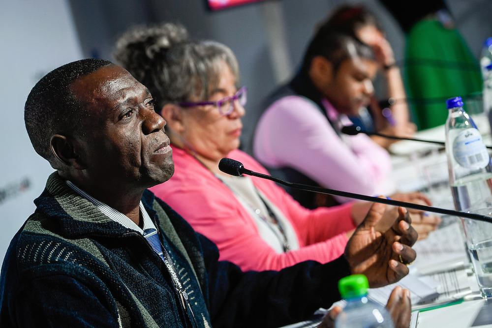 20160615 - Brussels , Belgium - 2016 June 15th - European Development Days - The people's peace - Galdino Joseph Sakondo , Project Coordinator for South Sudan , Saferworld © European Union