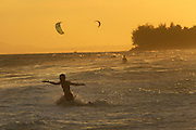 Mui Ne is a popular destination for kitesurfing in Vietnam.